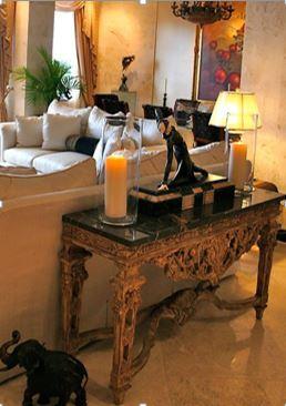 Adornos para el hogar adornos para la decoracin de san for Consolas decoracion hogar