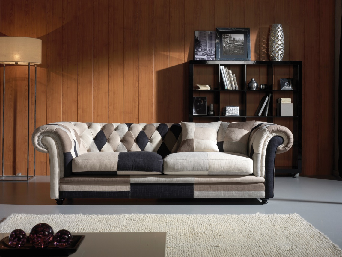 Chesterfield Sessel Patchwork Del Arte : Tips de dise?o panorama hogar