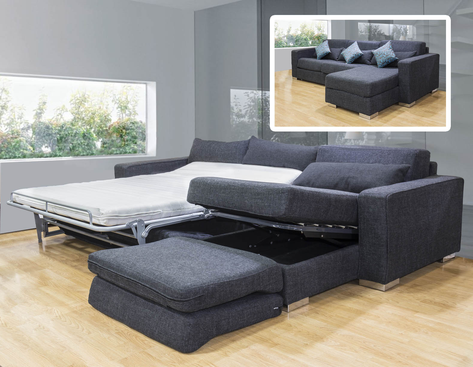 Muebles sofa cama lima 20170830094545 for Muebles de sala promart